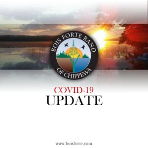 Bois Forte Public Health COVID-19 Case Announcement