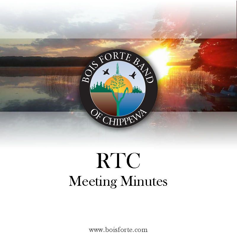 RTC Meeting Minutes