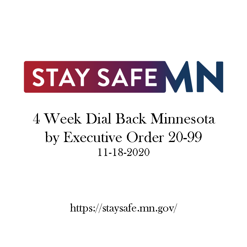 4 WEEK DIAL BACK MINNESOTA