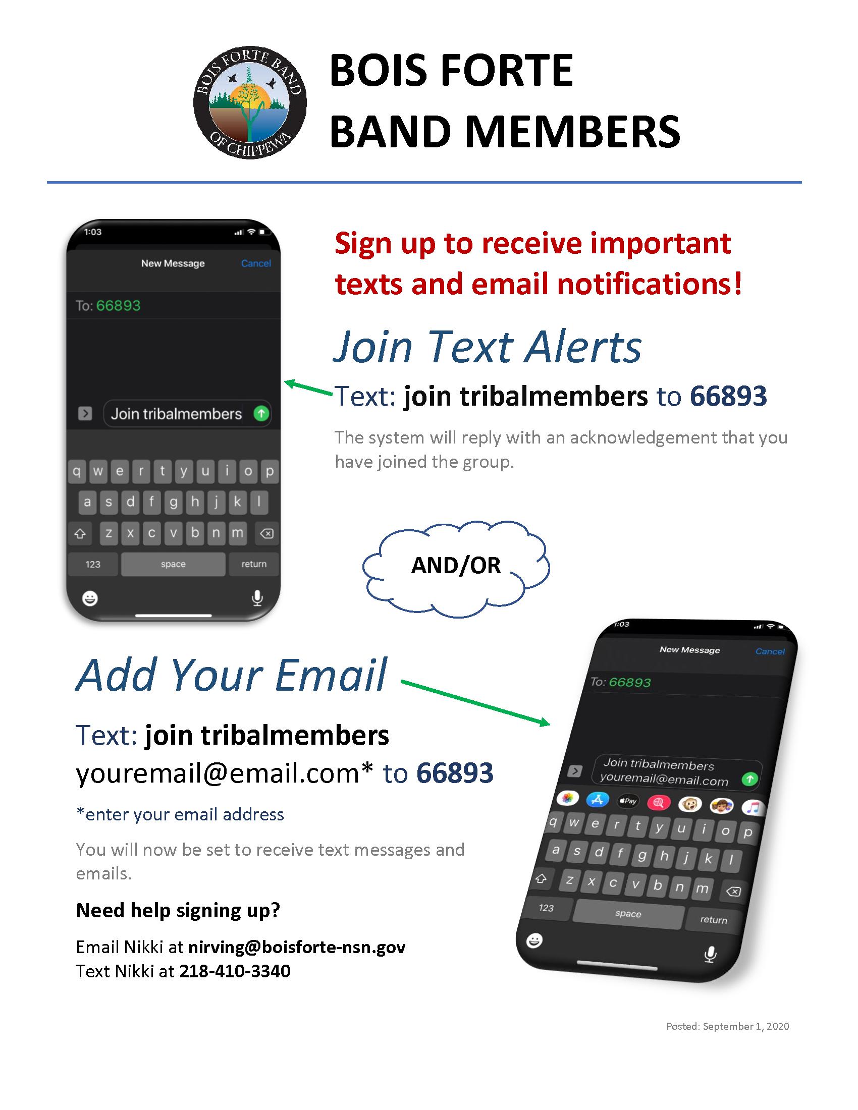 Sign up reqroup instant alert