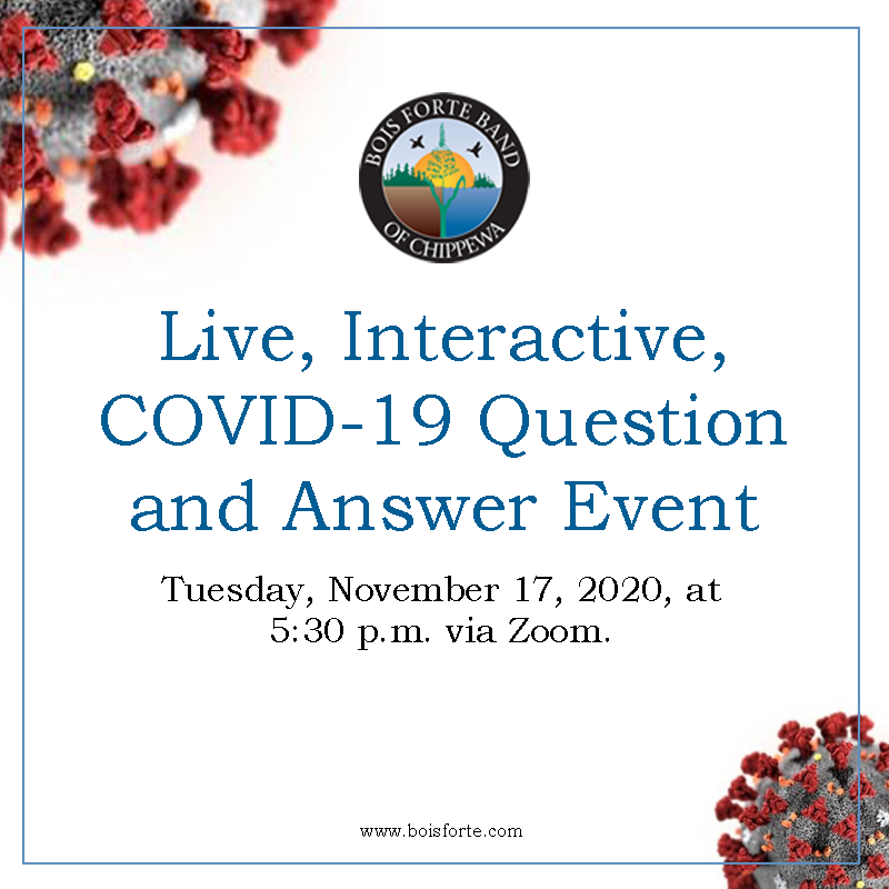 Live, Interactive, COVID-19 Question and Answer Event